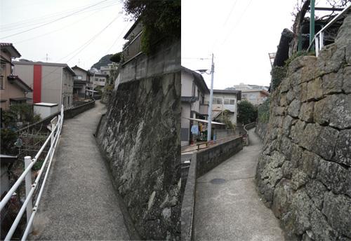 辻町の細道