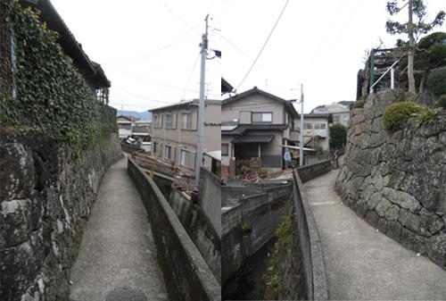 辻町の石垣