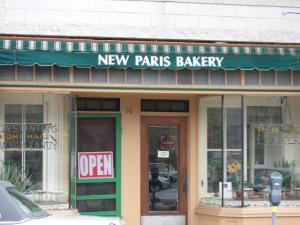 New paris bakery