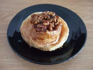 Morning Buns with walnuts