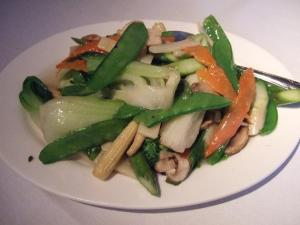 Sautéed Mixed Garden Vegetables