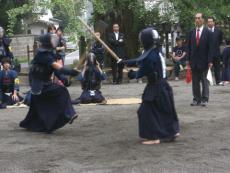 中学生の剣道は迫力があります!