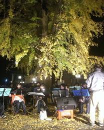 地元有志の吹奏楽団