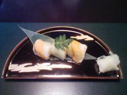 野菜のお寿司。。ちょっと変わり種です