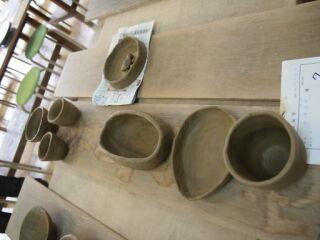 陶の里の陶芸教室作品