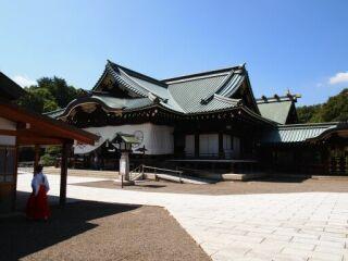 靖国神社境内20110907