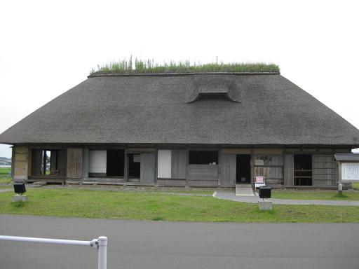 六戸道の駅の古民家