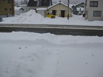 11月3日の雪の様子