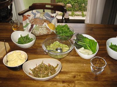本日のお料理(一部)