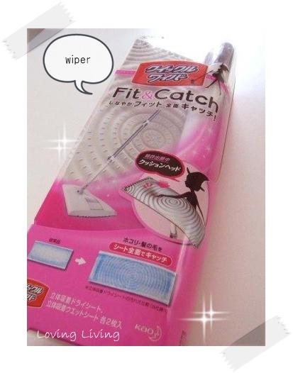 花王 クイックルワイパー Fit & Catch  Kao wiper