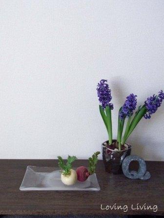 おめでたい 薄氷(うすらひ) 室礼   the happiest interior decoration thin ice