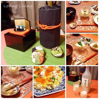 ひなまつりのテーブルコーディネート table decolation The Girls' Festival (on March 3)