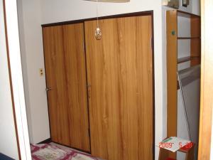トイレと収納のドア