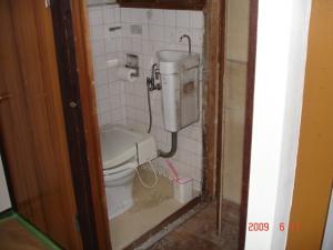 トイレと収納の壁を撤去
