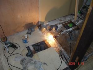配水管の新設及び移設