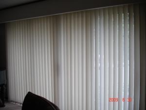 バーチカルブラインド、ルーバー100mm巾