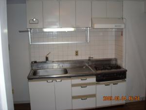 既存のキッチン全体