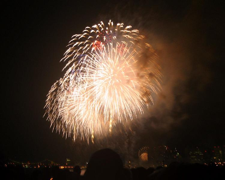 独立記念日の花火③