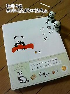 手習いパンダ