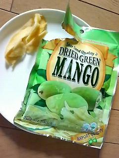 ドライグリーンマンゴー