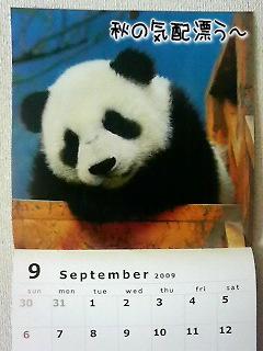 2009.9カレンダー