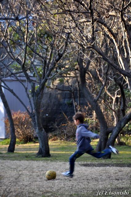 公園で遊ぶ(2009/1/11)
