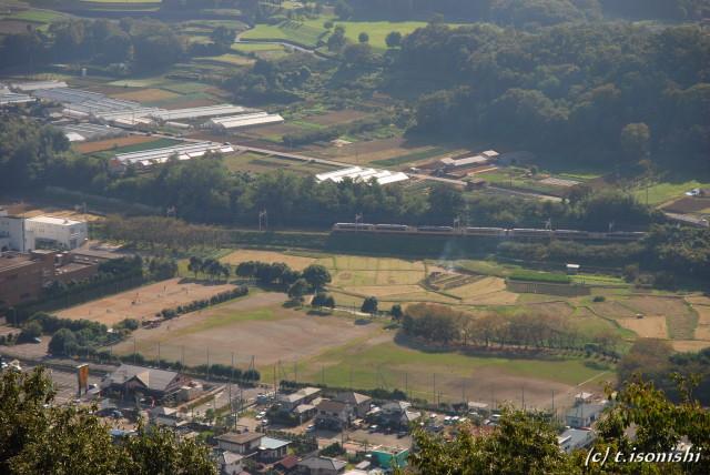 権現山からの眺め(2008/10/13)