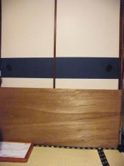 台所への襖を塞いでいるの図090320