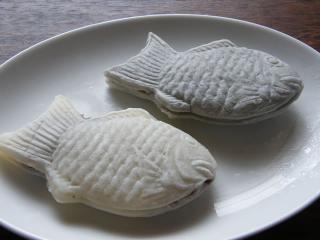 白黒鯛焼き090526-1