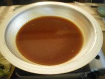 カレー鍋のスープ