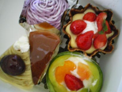 「フランダース」のケーキ