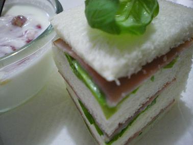 ある日のサンドイッチ