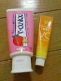 歯磨き粉処分