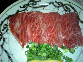 牛丸-牛肉の刺身