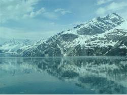 氷山のような景色