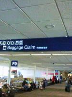 ミネアポリス空港・看板