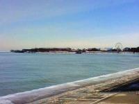 ミシガン湖--Navy Pier方面