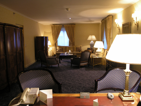 Westin Paris room