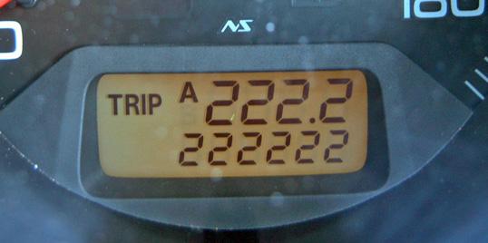 222222km