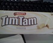 オーストラリア Tim Tam White