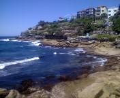 ボンダイビーチ シドニー 海