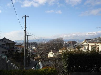 2月散歩頂上