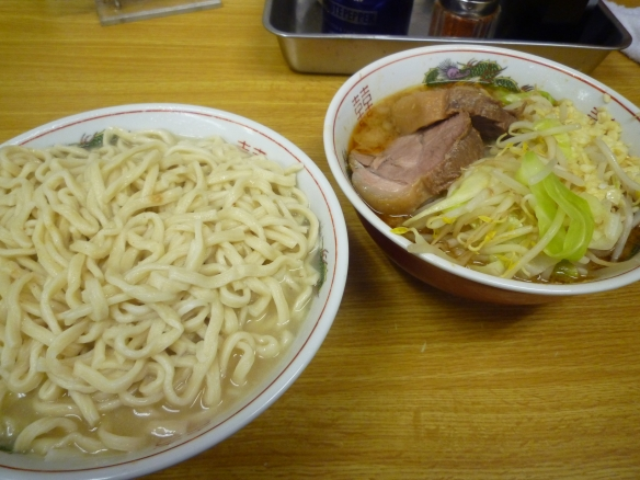 11年10月29日 小金井 小つけ麺あつもり ニンニク