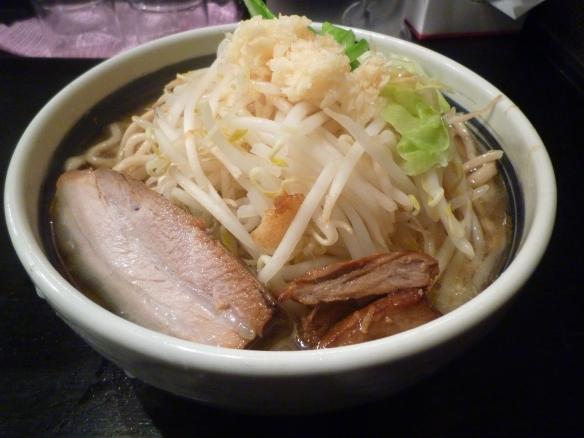 11年12月18日 大山川崎 大麺 大盛 ニンニク
