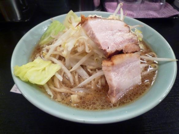 12年2月12日 大山 大麺ニンニク