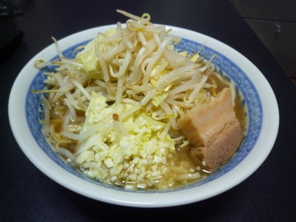 12年2月29日 大山(通販) 大麺ニンニク
