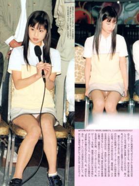 小倉優子パンチラ