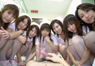 エロ看護婦パンチラ