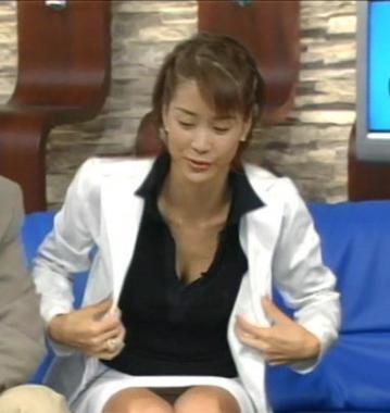 内田恭子パンチラ