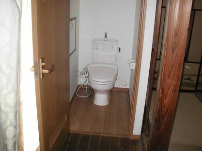 【施工事例vol.3】廊下にトイレを新設後